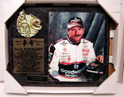 Quality In 1951-2001 Dale Earnhardt Intimidator Plaque 399/2001 Superior