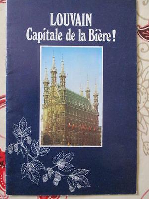 Louvain : Capitale De La Biere ! (annees 1970 ?). Tegen Elke Prijs