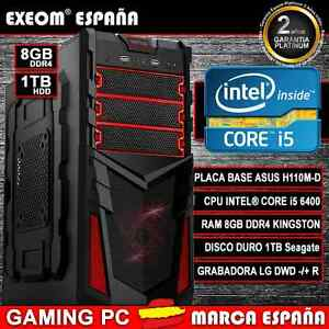 ORDENADOR-GAMING-PC-INTEL-CORE-i5-6400-6-GEN-8GB-DDR4-1TB-HDMI-SOBREMESA-ESPANA