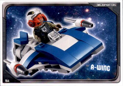 154-a-wing-Lego Star Wars cartes de collection série 1