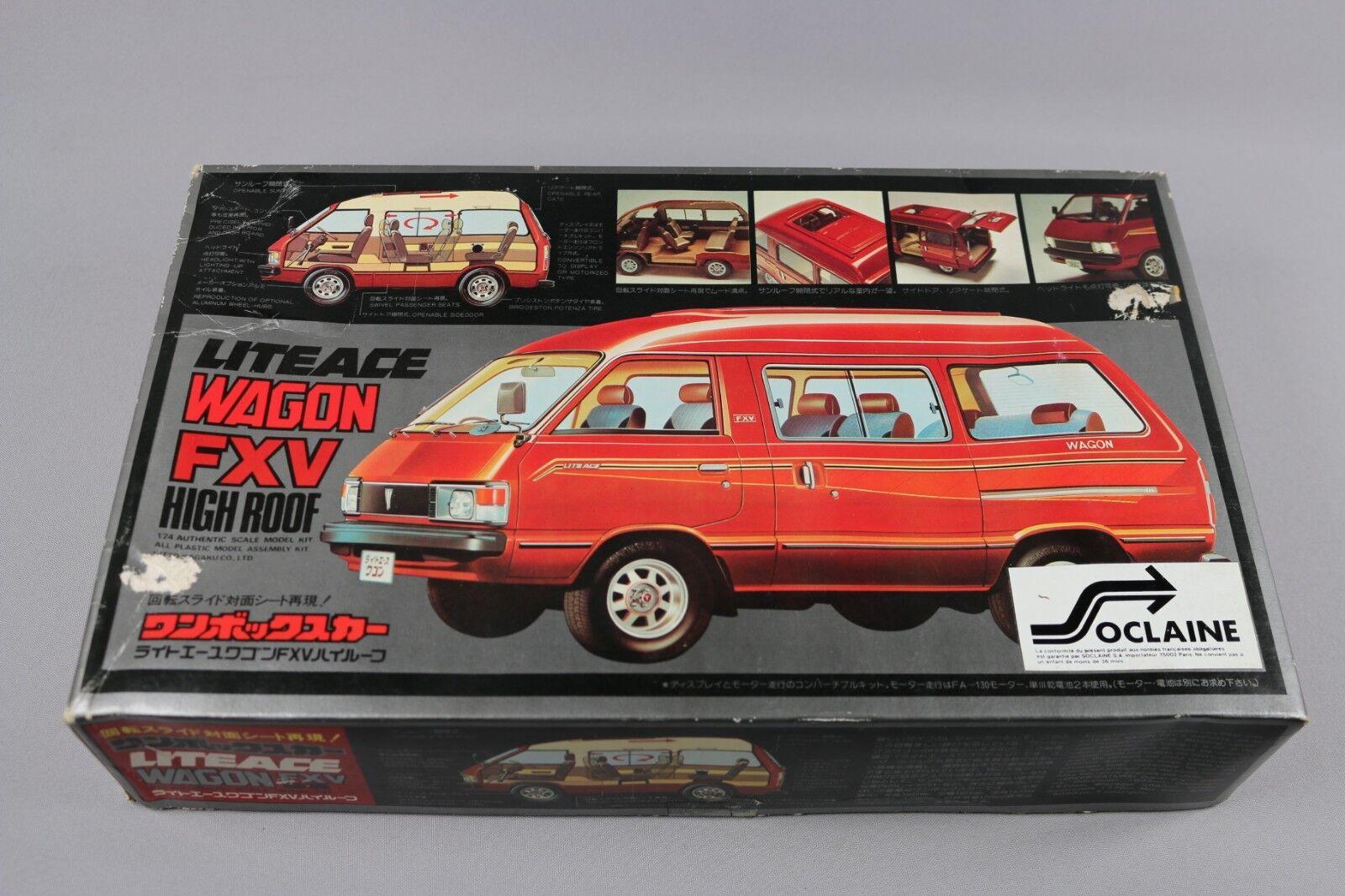 Tienda de moda y compras online. Zf1301 Nitto 1 24 Maqueta Coche 817-1000 Liteace Wagon Fxv Fxv Fxv High Roof  compra limitada