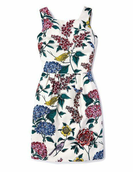 NEW BODEN KIERA FLORAL WH788 DRESS SIZE US US US 2   8b9124
