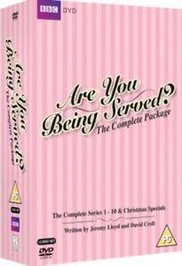 Nuovo Are Voi Being Served? Serie 1 A 10 Collezione Completa DVD
