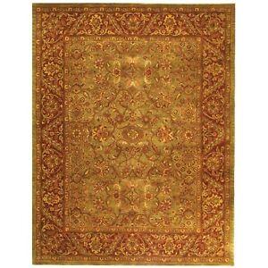 Image Is Loading Safavieh Golden Jaipur Green Rust Wool Area Rug