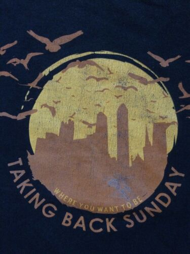 Taking Back Sunday Vintage Where You Want To Be Ba