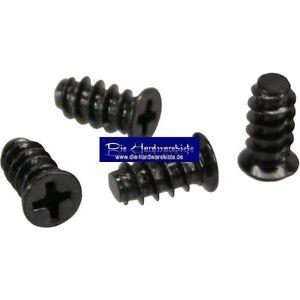 4-Stueck-5-x-10mm-Schraubenkit-fuer-Systemluefter-Gehaeuseluefterschauben-schwarz