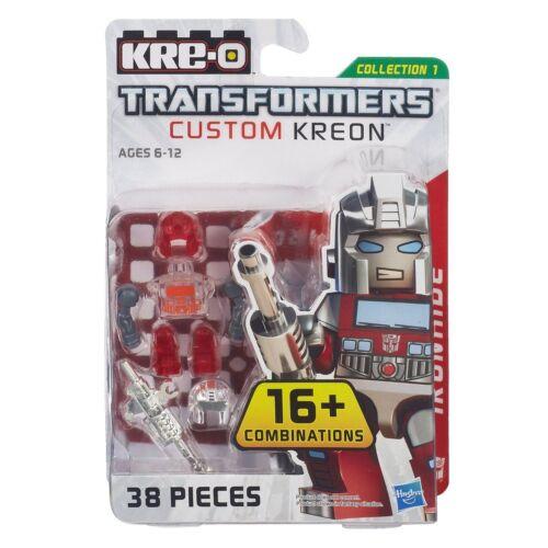 IRONHIDE Transformers KRE-O Set MISB new kreo kreon G1 CUSTOM series 1 lego