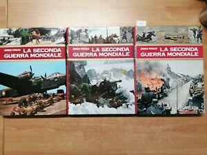 ARRIGO PETACCO - LA SECONDA GUERRA MONDIALE 3 VOL. CURCIO - SEQUENZA 1/3 (4948)