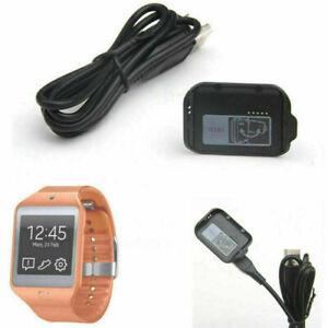 Ladegerät Ladestation Dock USB Kabel für Samsung Galaxy Gear 2 SM-R380 Watch Uhr