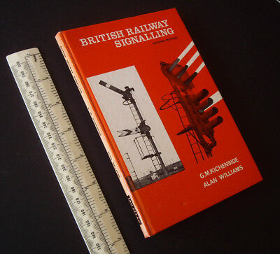 British Railway Signalling 1968 2nd Ed Kichenside & Williams Ian Allan Hardback Profitto Piccolo