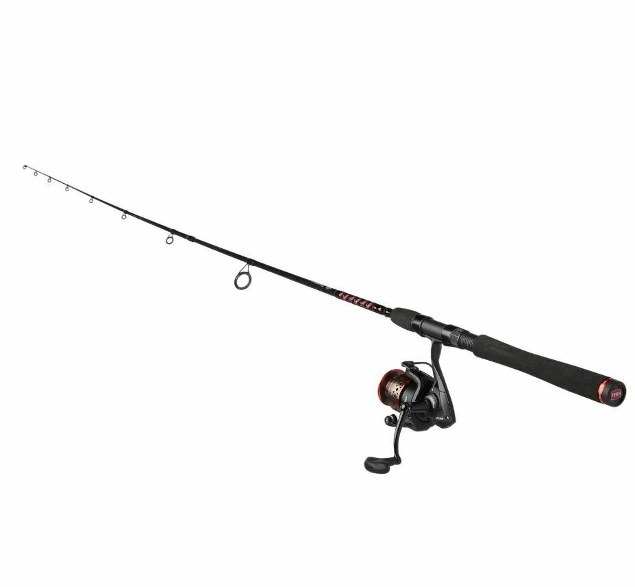 Surf Fishing Rod And Reel Combo Pier Saltwater Spinning 7'  Penn Bay Catfish Bass  sale online discount low price