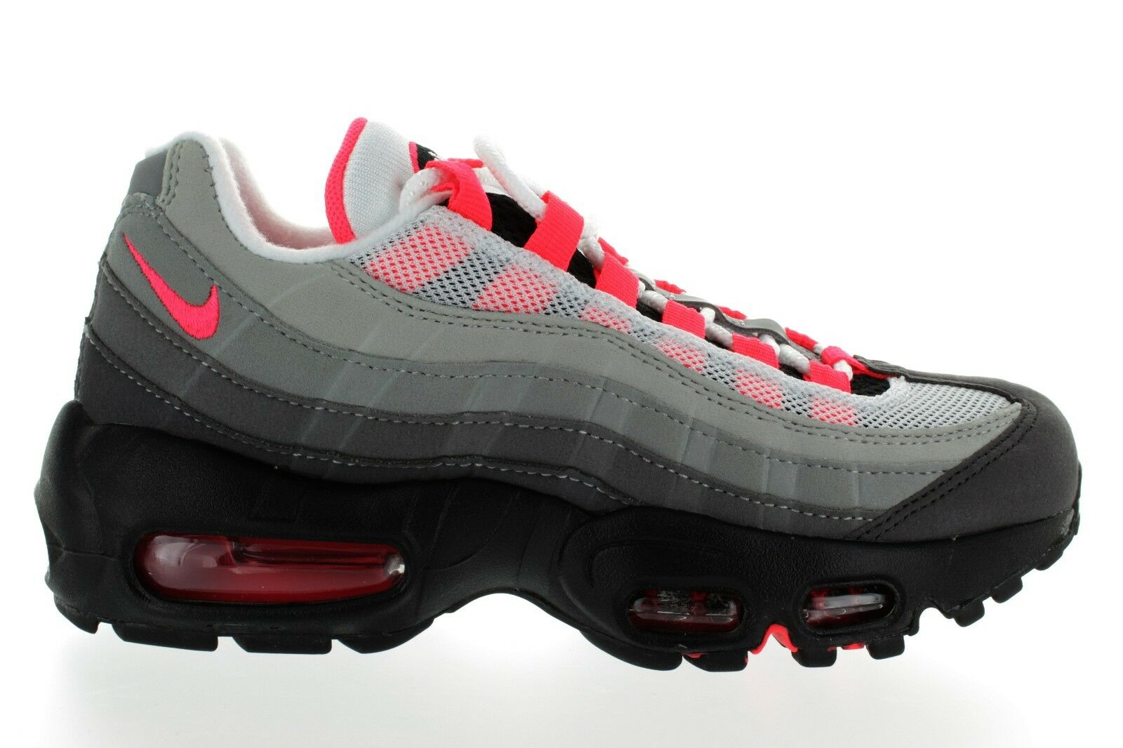 2018 MENS NIKE AIR MAX'95 OG AT2865 100 WHT/SOLAR DS RED-GRANITE DUST DS WHT/SOLAR BRAND NEW fb2a3d