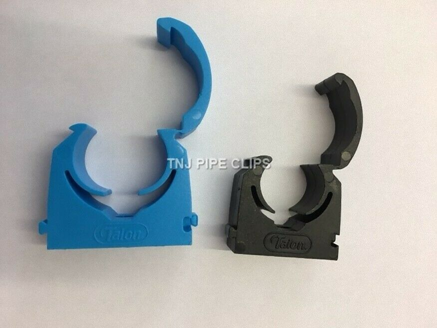15mm Talon Snap-Lid Hinged Clip Copper Plastic Pipe Clips