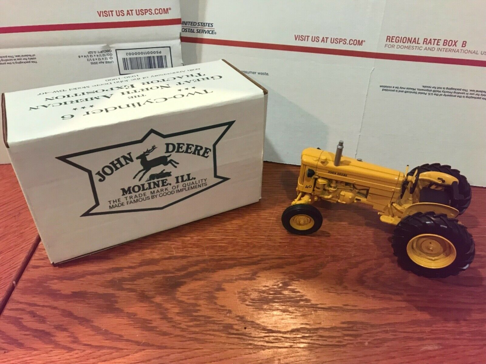 John Deere Model 40 Industrial, 2 Cylinder Club Special Edition READ DESCRIPTION