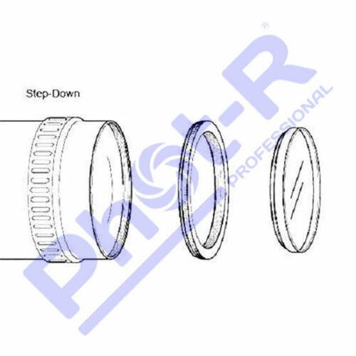 Fot-R 58-52mm Metal paso a paso hacia abajo anillo adaptador reductor 58mm-52mm 58-52
