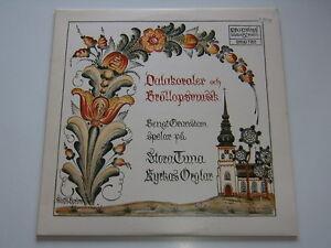 Bengt-granstam-Stora-Tuna-Church-Estocolmo-proprius-vinilo-Cover-Mint