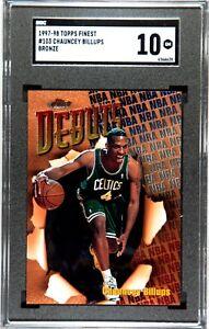 1997 Chauncey Billups Topps Finest #103 SGC 10 GEM MINT - Rookie Card - HOF '22