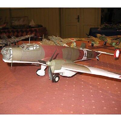 Modelik 17/05 - Junkers JU-86 A1 1:3 3 with Lasercut Parts