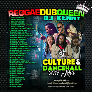 Details about DJ Kenny - Culture & Dancehall 17 Mixtape  Reggae Mix CD