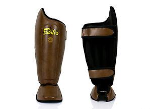 NEW FEATURES FAIRTEX Shin Pads Brand New BEST MMA EQUIPMENT SP8