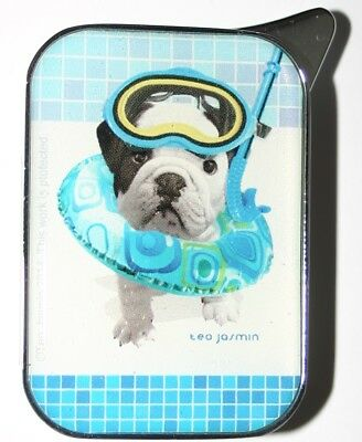 Pug Puppy Love Lighter Teo Jasmin Designs Electronic Gas Refillable Champ WHT