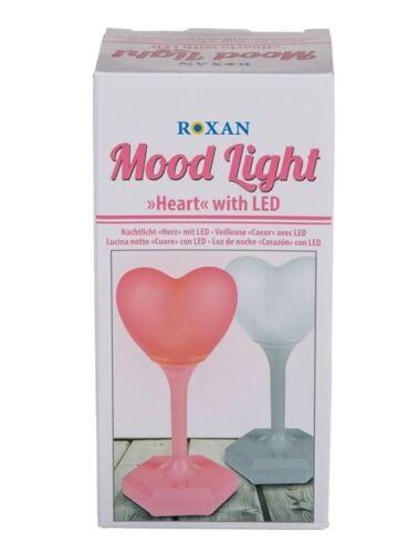 Herz Nachtlicht LED 2 Farben zur Auswahl Nachtleuchte Beleuchtung herzförmig