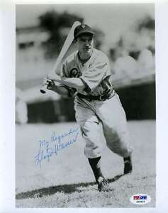 LLOYD WANER SIGNED PSA/DNA CERTIFIED 8X10 PHOTO AUTHENTICATED AUTOGRAPH