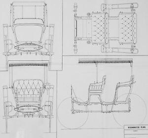 Wagon Master Western Surrey Horse Drawn Wagon Vintage 1980's Model Plans