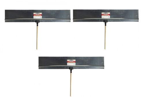 "Handles 3 Hyde Tools ProShield Stiff Rigid Aluminum 36/"" X 9/"" Paint Shield"