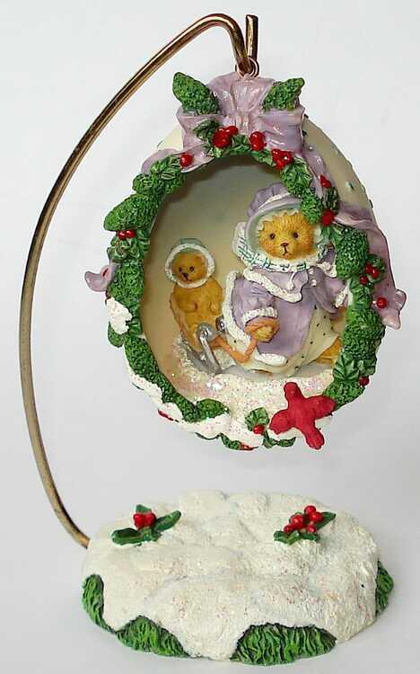 Cherished Teddies - GRETCHEN - Decorative Egg - Hamilton USA NEU - 01461017    Qualifizierte Herstellung