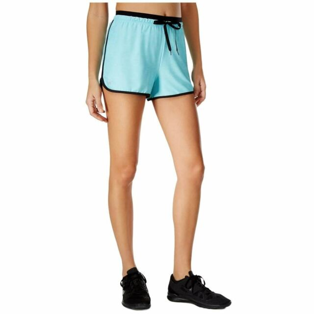 add5c531f Ideology Womens Blue Training Fitness Running Shorts Athletic XL BHFO 1764