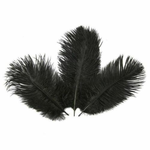 10 Pcs 15-20CM Beautiful Ostrich Feathers for DIY Jewelry Craft Making