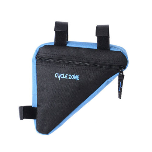 Outdoor Cycling Bicycle Front Triangle MTB Frame Bag Mountain Bike Kit Pouch UK