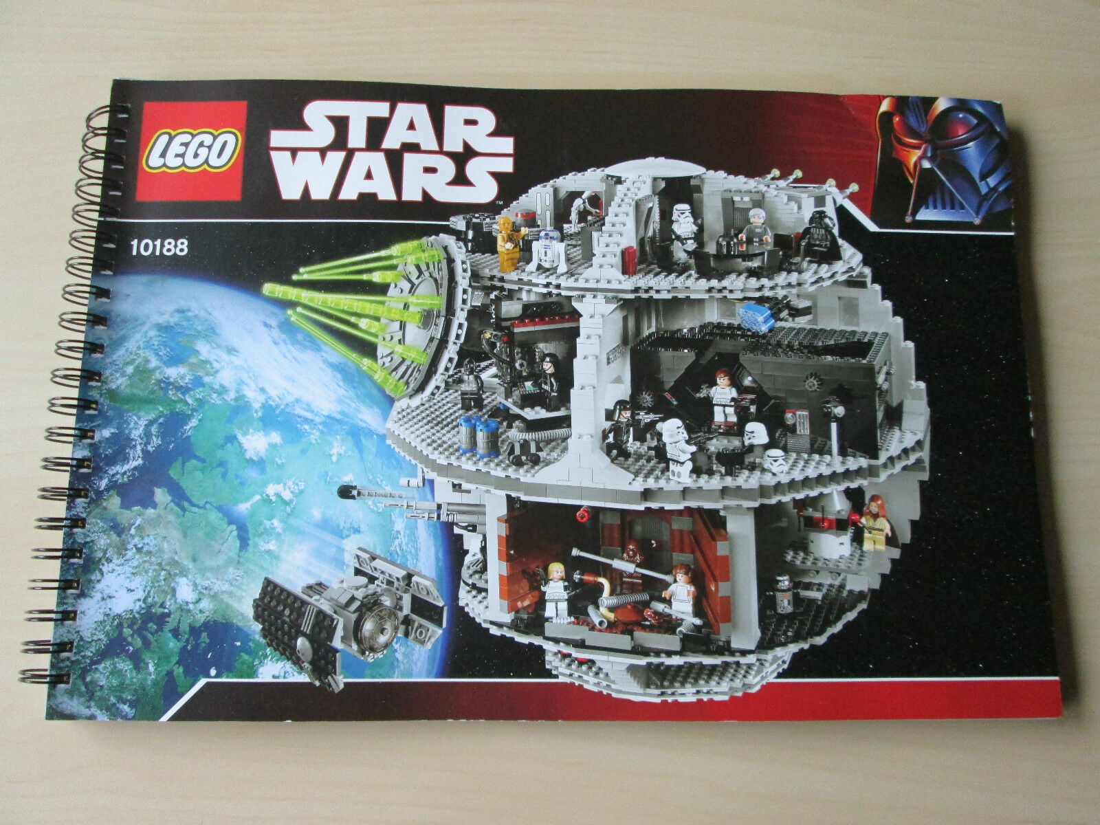 LEGO Bauanleitung Instruction Manual Star Wars 10188 Todesstern Death Star
