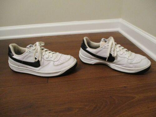 100% authentic 10dc3 e00b2 Noir Ace 5 Classic Occasion 2001 Chaussures 10 Blanc Porté Taille Nike 83  ARq35jL4