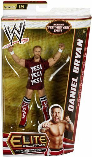 WWE ELITE Collection Series __DANIEL BRYAN 6 inch action figure_New_Unopened