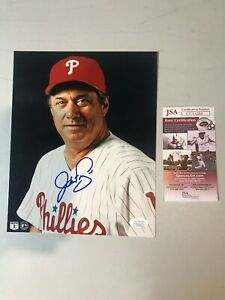 Jim-Fregosi-Autograph-Signed-Philles-8x10-Photo-JSA