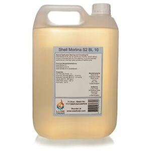 Details about 5L Shell Morlina S2 BL 10 (Morlina 10) ISO VG 10 Spindle Oil