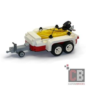 cb custom modell schlauchboot mit trailer aus lego. Black Bedroom Furniture Sets. Home Design Ideas