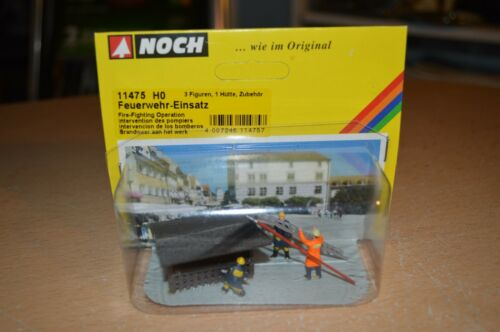 Noch HO Scale #11475 FireFighting Operation NEW
