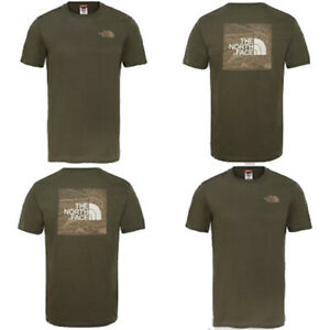 T-shirt-M-M-uomo-THE-NORTH-FACE-Red-Box-Celebration-Col-New-Taupe-P-E-19