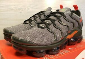wide varieties sneakers official photos Nike Air Vapormax Plus Cool Grey Orange Training Fashion 924453 ...