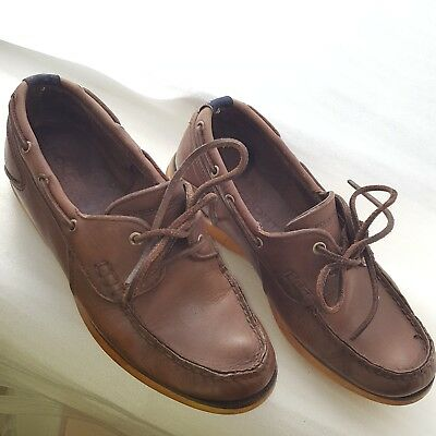 D Sport DeckEbay Leather 7 Ralph Lauren Men's 5 Brown Polo Shoes Boat xoeWQrdCBE
