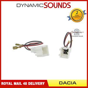 CT55-DC01-Enceinte-Voiture-Cable-Adaptateur-Boucle-Harnais-Connecteur-pour-Dacia