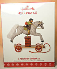 2017 Hallmark Keepsake a Pony for Christmas Ornament 20th in Series