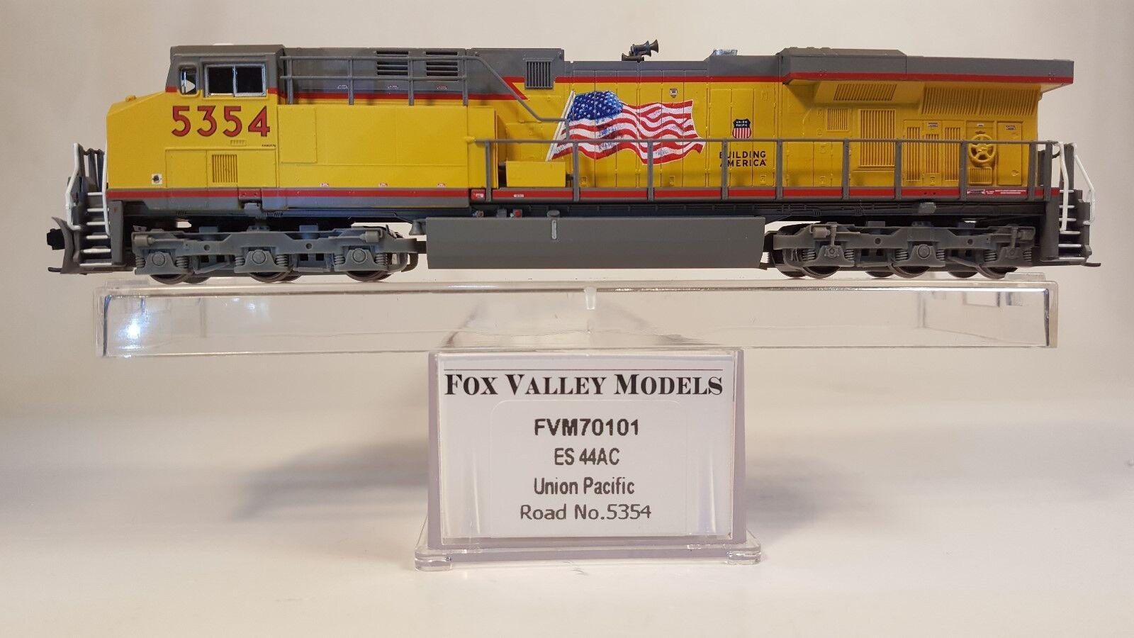 N Fox Valley Models 70101 ES44AC Unión Pacific Locomotora (probados)