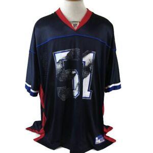 New NFL Equipment Reebok Jersey Size 2XL Spikes #51 Football Buffalo  free shipping