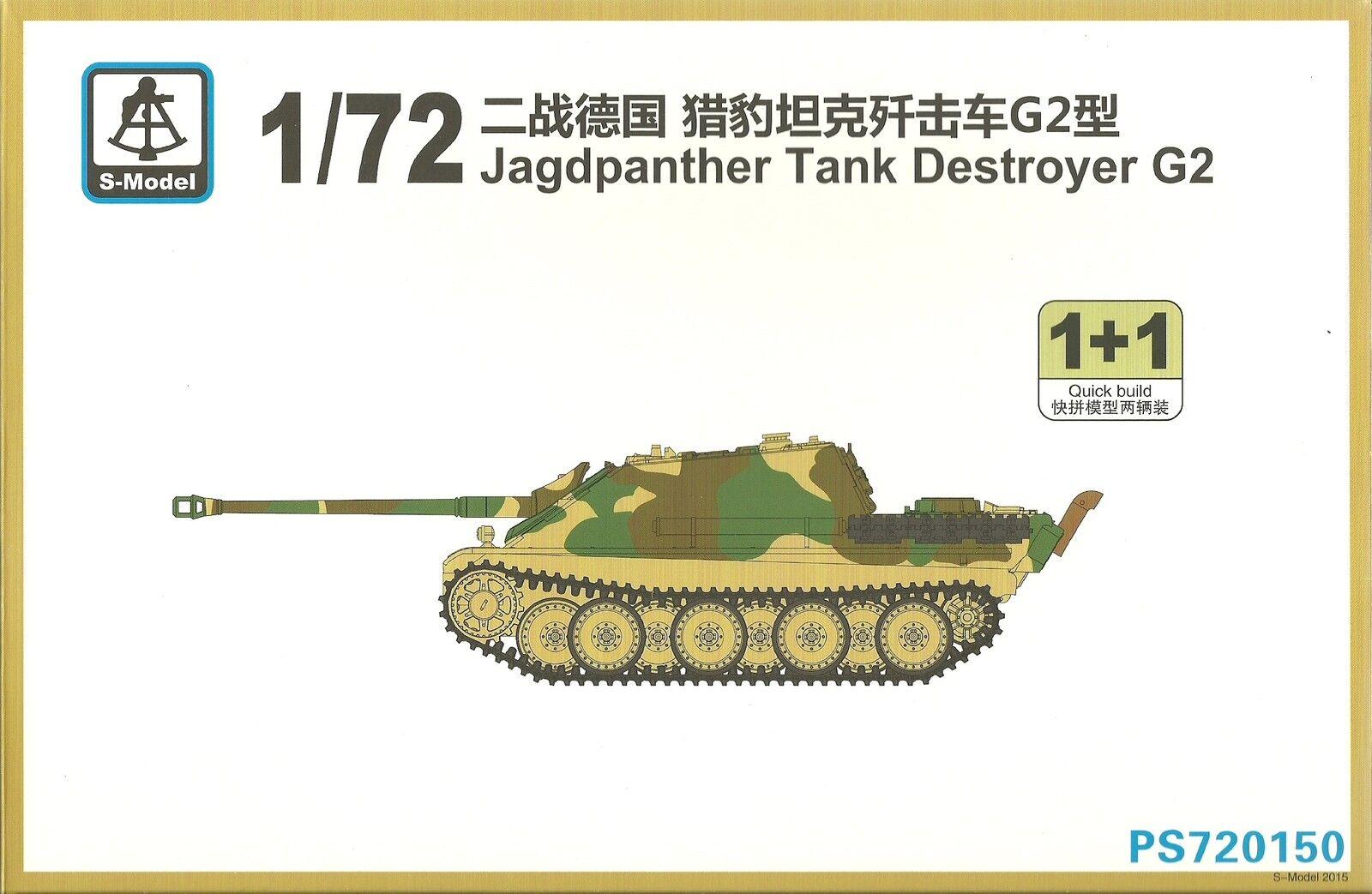 S-model 1   72 jagdpanther jagdpanther jagdpanther carro armato distruttore dad370