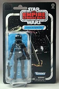"""STAR WARS The Empire Strikes Back IMPERIAL TIE FIGHTER PILOT 6"""" Figure 40th Ann"""