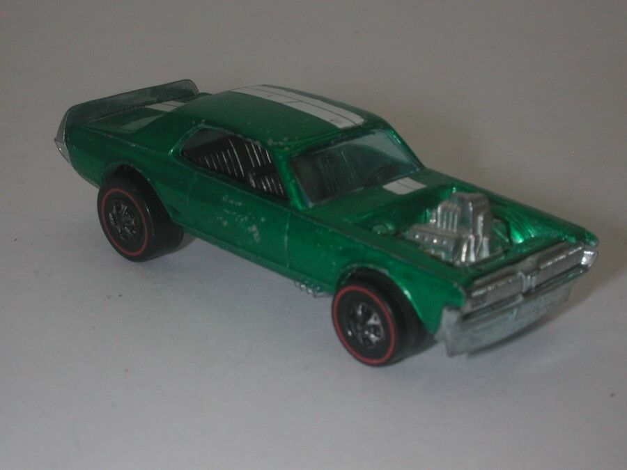 Rossoline Hotwheels verde 1969 Nitty Gritty Kitty  oc17407